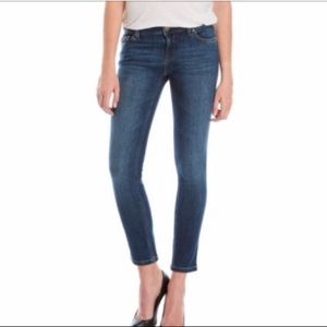 DL 1961 Angel Skinny Jeans Size 28 Cropped Ankle